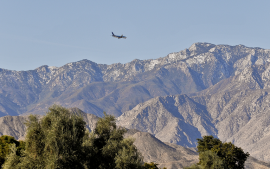 Flying Virgin Non-Stop to Rancho Mirage